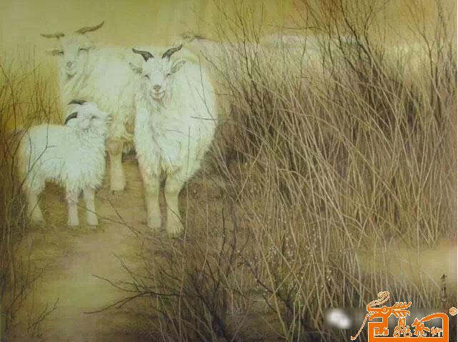 张秀萍的工笔动物作品